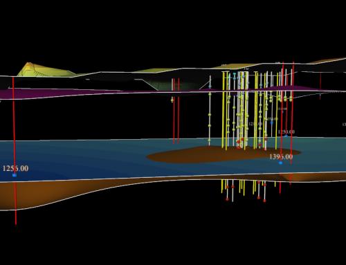 Estimation géostatistique d'une zone source et de la masse d'hydrocarbures chlorés traitée in situ