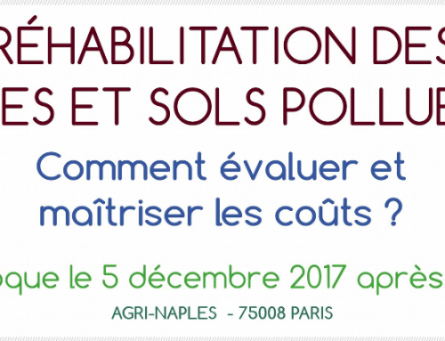 The benefits of geostatistics for contaminated sites and soils. Talk at the 10th Chloronet technical day in Soleure, 24 November 2017 and at the AFITE symposium in Paris, 5 December 2017
