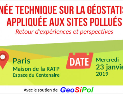 Technical Day ADEME – RECORD in Paris, 23 January 2019 on geostatistics applied to polluted sites