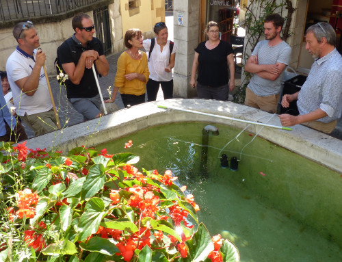 Practical training in installation of integrative passive samplers to analyse karst springs – September 15th and 29th 2020